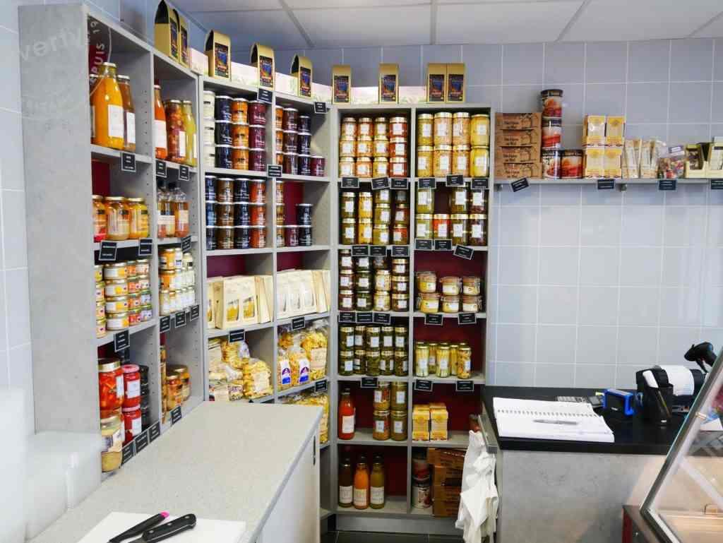Boucherie Brelet produits secs