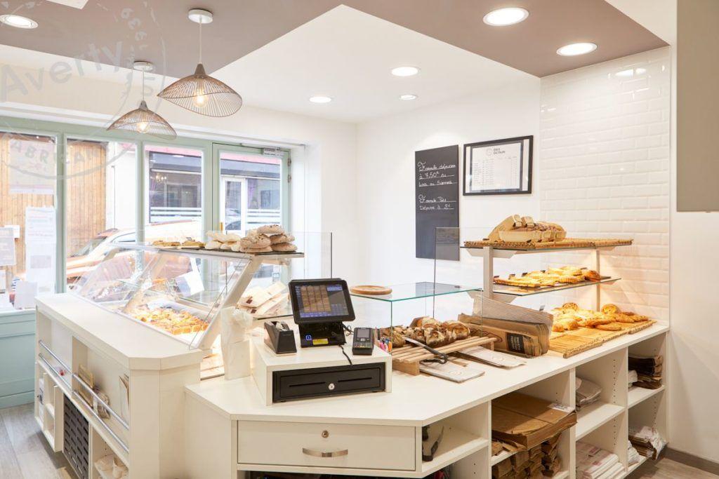 Boulangerie patisserie Van Der Beken comptoir