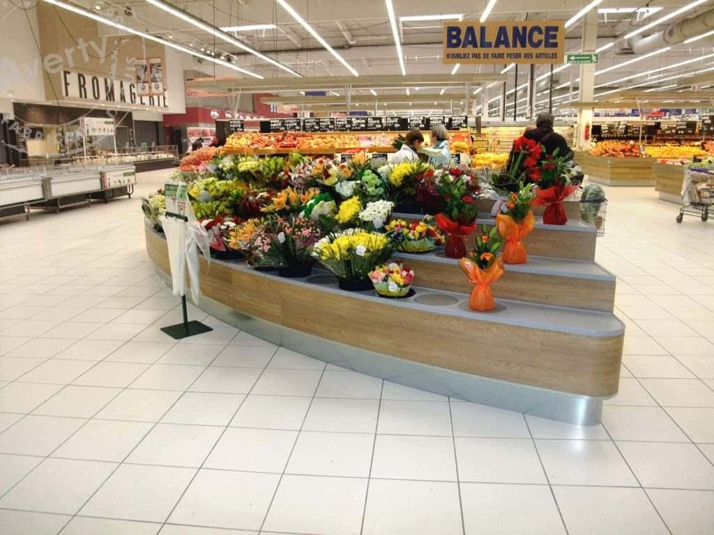 Leclerc Atlantis meuble fleurs