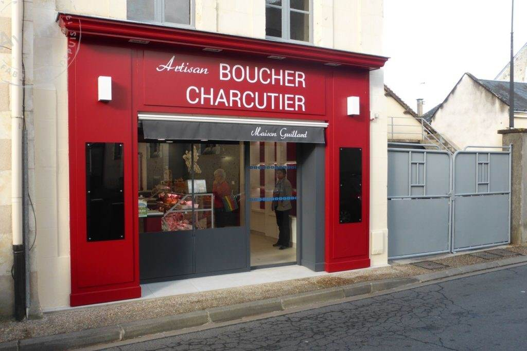 boucherie guillard devanture